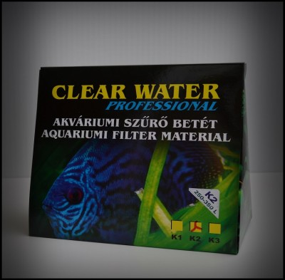 SZAT Clear Water Original K2 a 250l-350l méret 16x16cm  +Protein Filter Technologi!