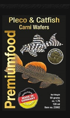 Pleco & Catfish Carni Wafers 50gr 110ml